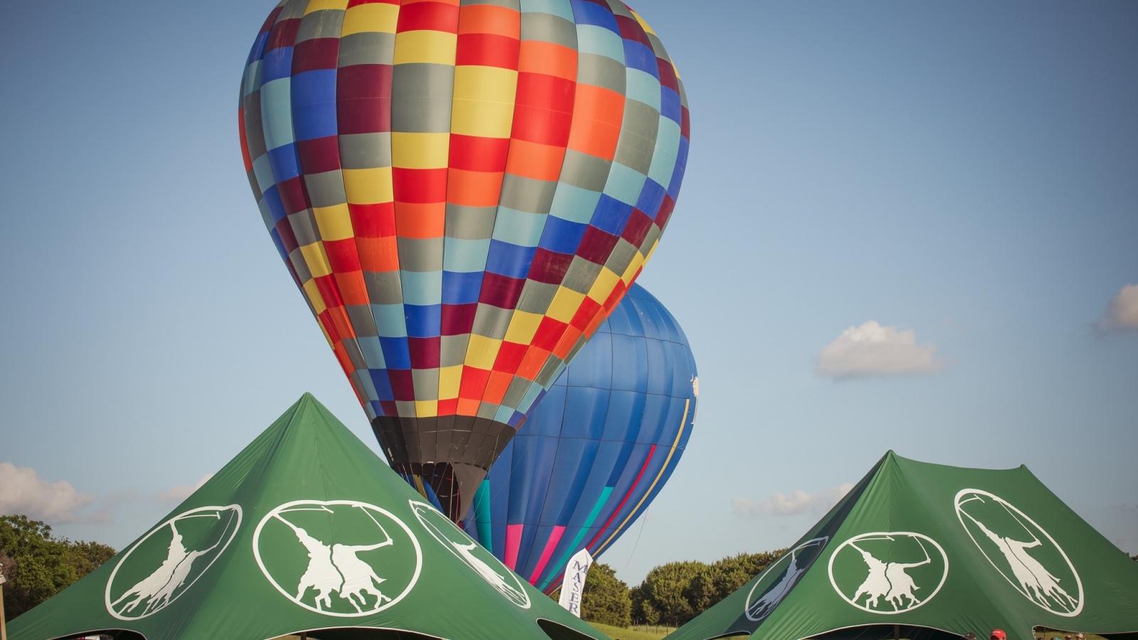 Hot air Balloon at Victory Cup