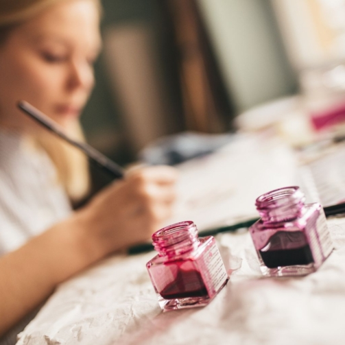 Hosted Online Glass Painting Event